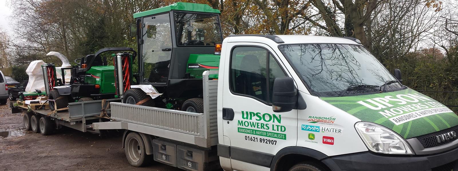 upson-mowers-van-pulling-skarper-c90