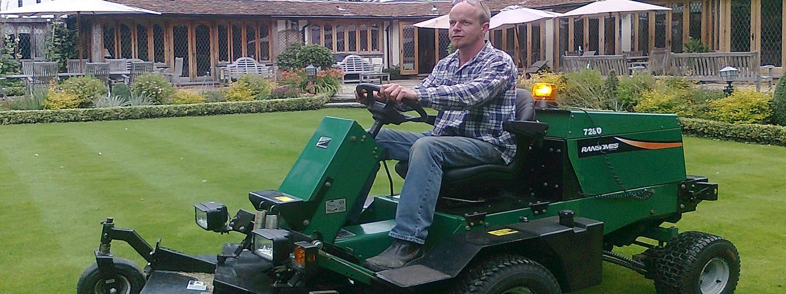 Jim-upson-riding-7260-ramstones-mower